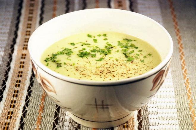 Летний суп-из кабачков