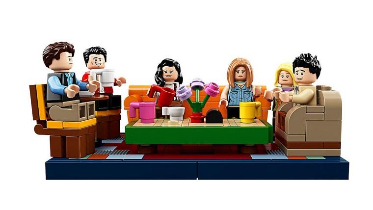 Набор LEGO для фанатов сериала Друзья 2