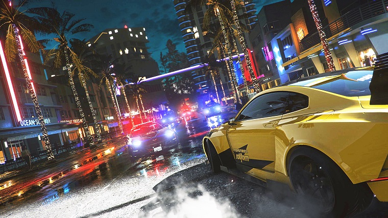 Официальная дата выхода новой версии Need for Speed Heat 4