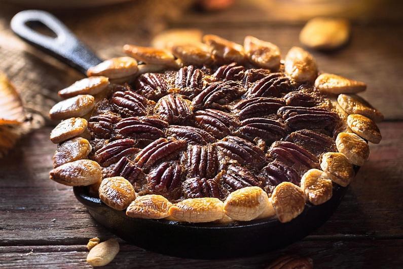 Ореховый пирог-с пеканом