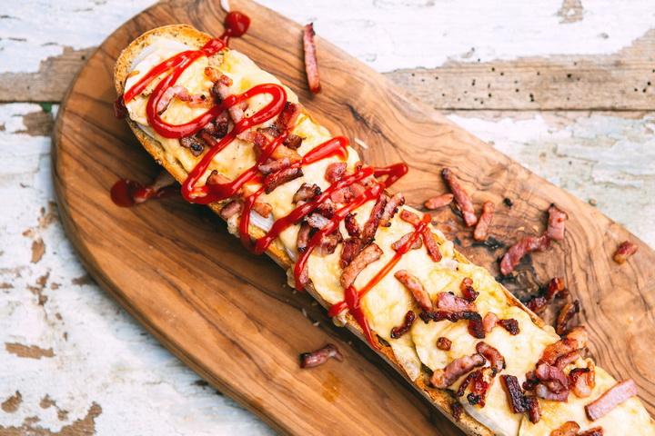 Открытый сэндвич- zapiekanka вкусные варианты