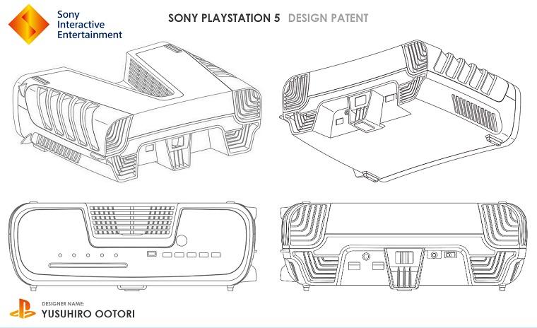 Первые изображения PlayStation 5 с необычным дизайном 2