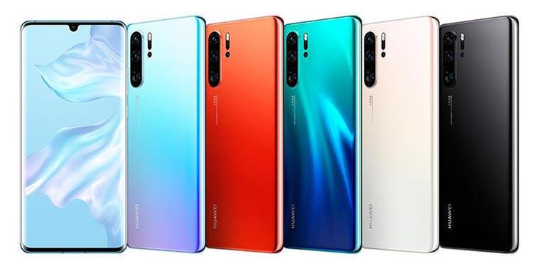 Расцветки новых Huawei
