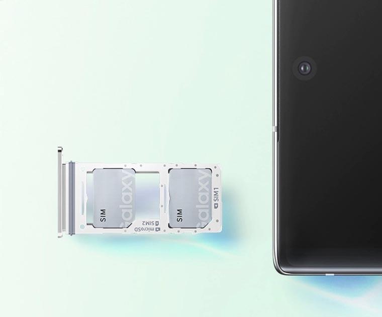 Galaxy Note 10 10+ лоток симкарт
