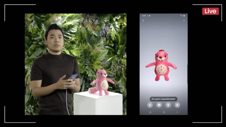 Samsung Galaxy Note 10-AR-стикеры