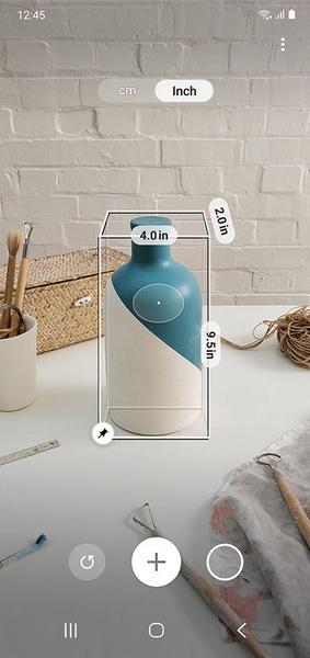 Samsung Galaxy Note 10 Plus-функция Quick Measure