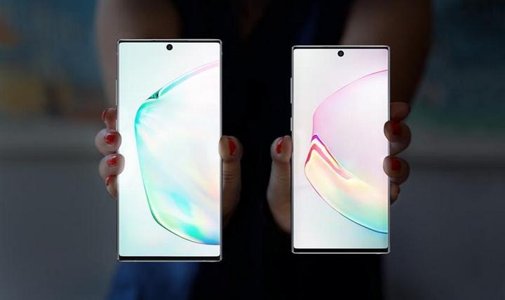Samsung Galaxy Note 10 and Note 10 Plus-флагманы в руках