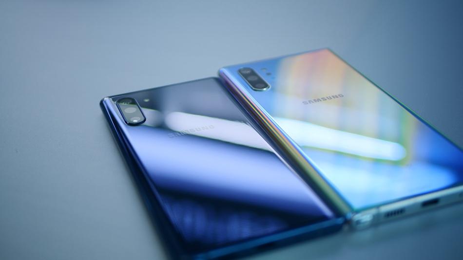 Samsung Galaxy Note 10 and Note 10 Plus-имиджевая картинка
