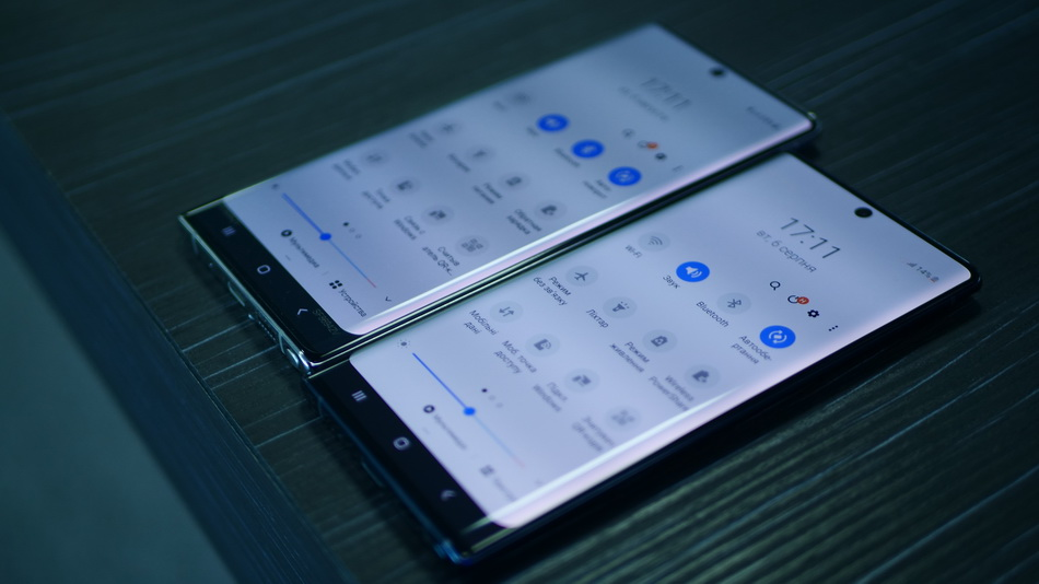 Samsung Galaxy Note 10 and Note 10 Plus-интерфейс