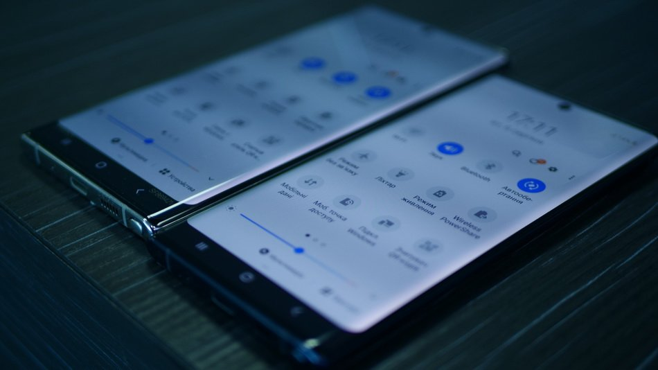 Samsung Galaxy Note 10 and Note 10 Plus-настройки