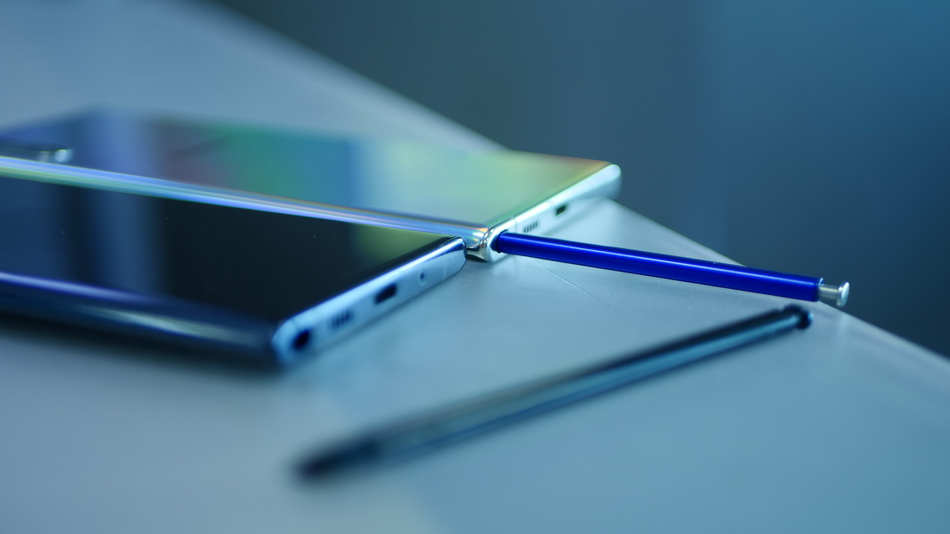 Samsung Galaxy Note 10 and Note 10 Plus-поддержка стилуса