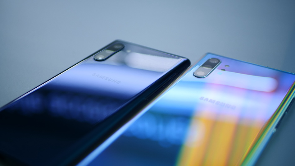 Samsung Galaxy Note 10 and Note 10 Plus-задняя панель фото 2
