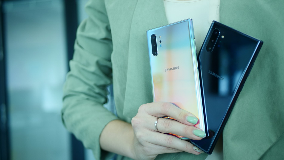 Samsung Galaxy Note 10-новинки