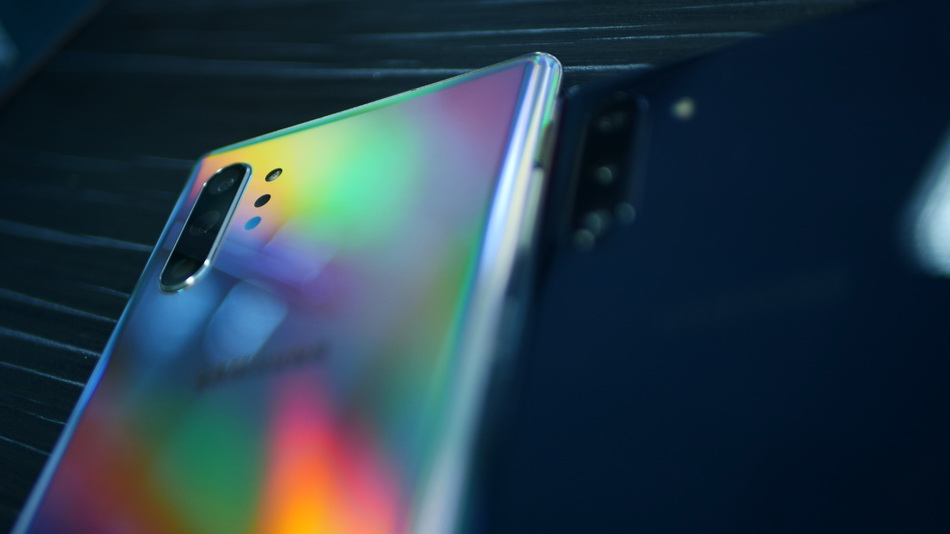 Samsung Galaxy Note 10-радужная расцветка