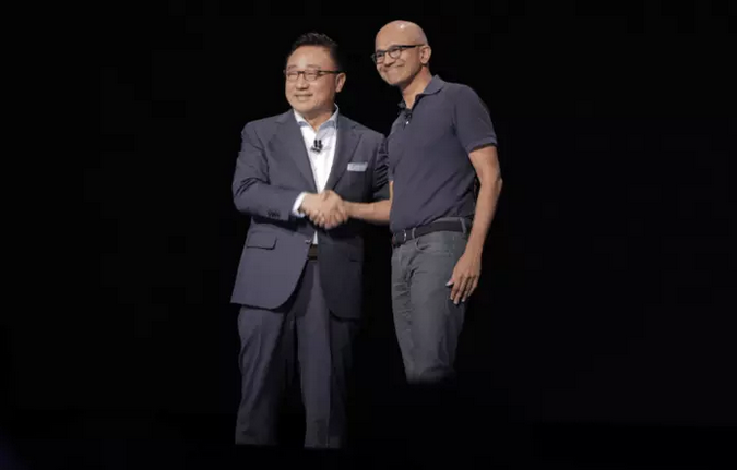 Samsung-партнерство с Microsoft
