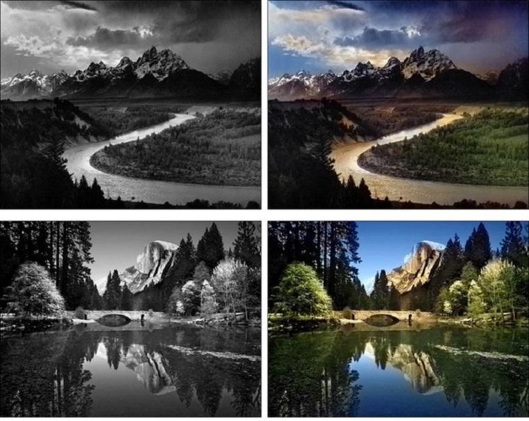 Сервис Google Фото научился делать цветными черно-белые фотографии 2
