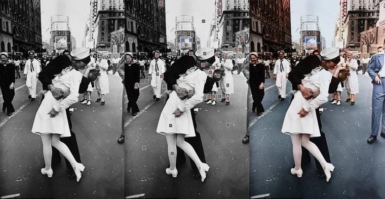 Сервис Google Фото научился делать цветными черно-белые фотографии 3