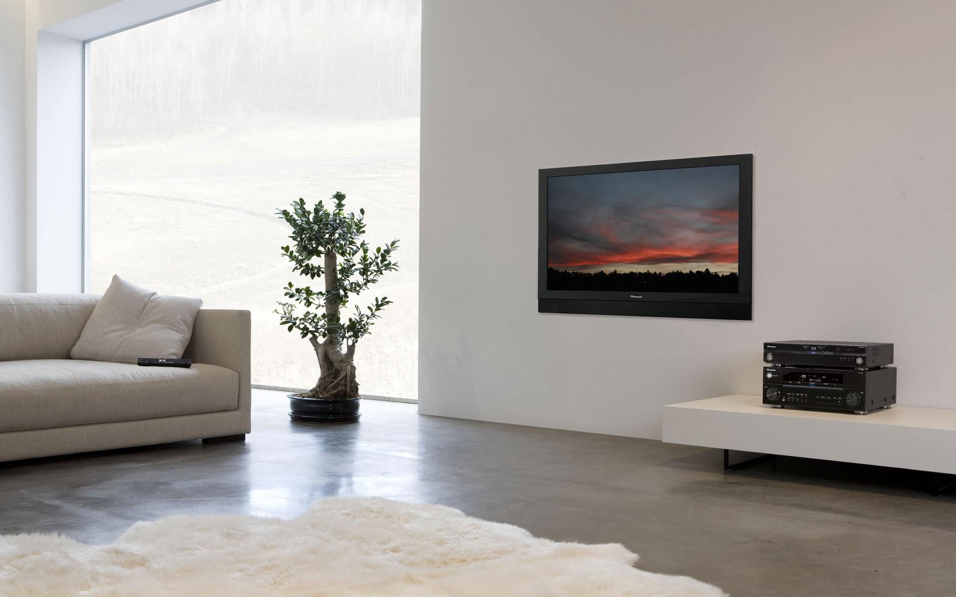 Топ-5 телевизоров до 7000 грн в Comfy - телевизор в интерьере
