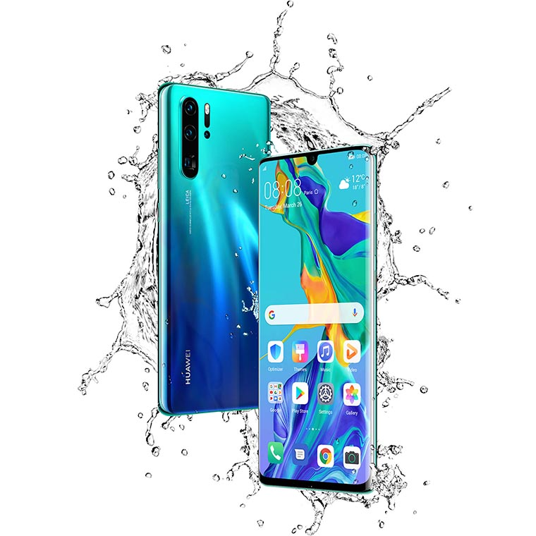 Водостойкость флагманов Huawei