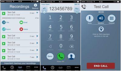 Int Call для записи звонков на айфон