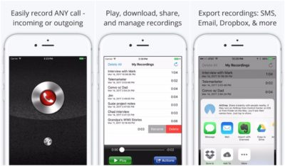 Call Recorder Lite for iPhone для запису дзвінків на айфон