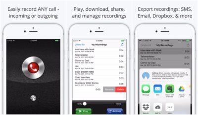 Call Recorder Lite for iPhone для записи звонков на айфон
