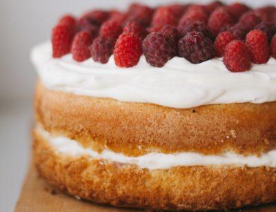 Торт на ідеальному бісквіті