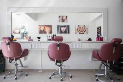 Крісло в салоні краси