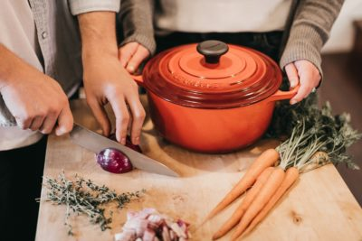 Процесс приготовления блюда
