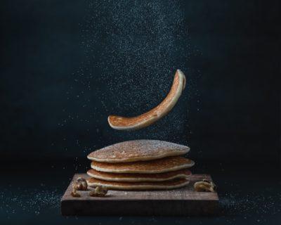Пышные блины на завтрак