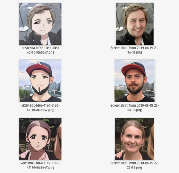 станьте героем аниме с приложением Selfie2Anime 4