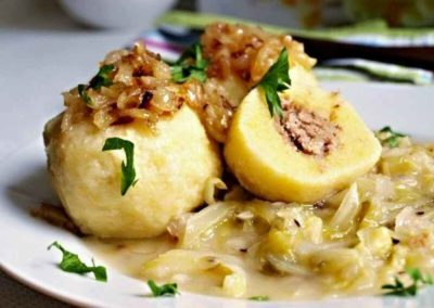 Кнедлики с картошкой