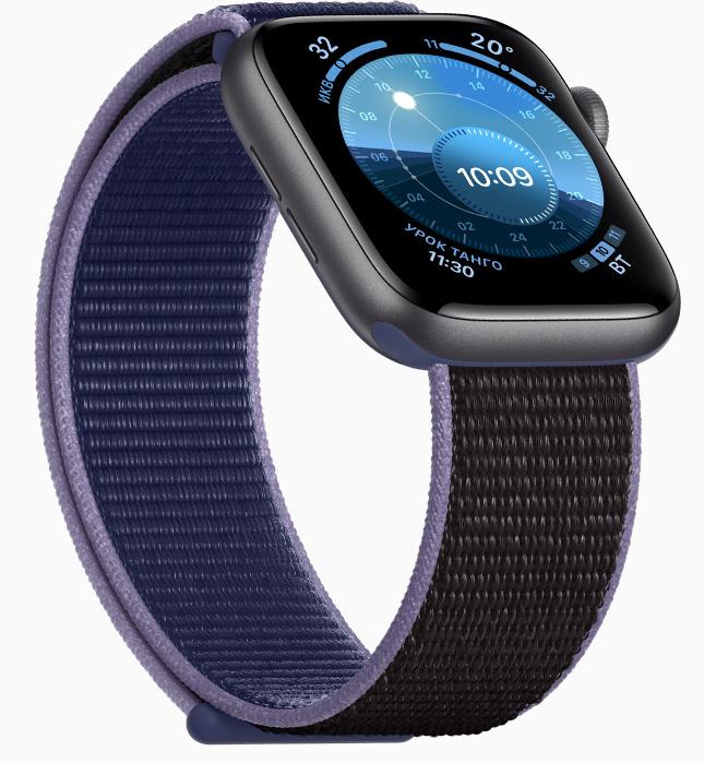 Apple Watch 5-расцветки и ремешки