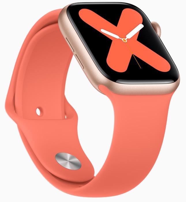 Apple Watch 5-расцветки
