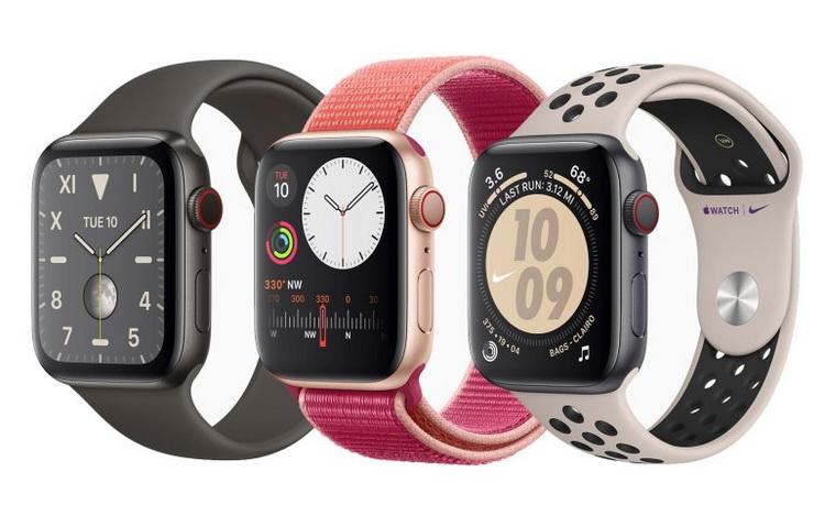 Apple Watch Series 5-всегда активный дисплей