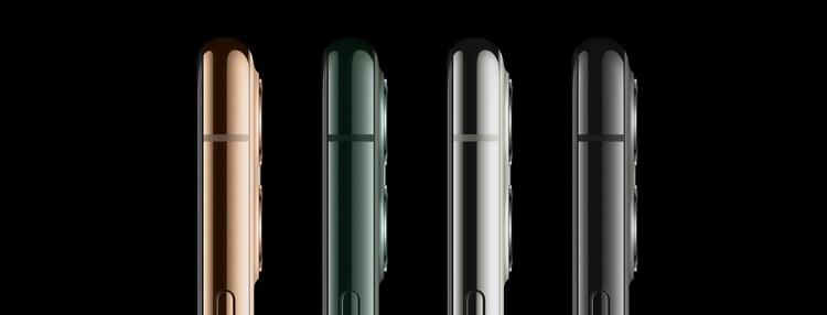 Apple iPhone 11 Pro-расцветки