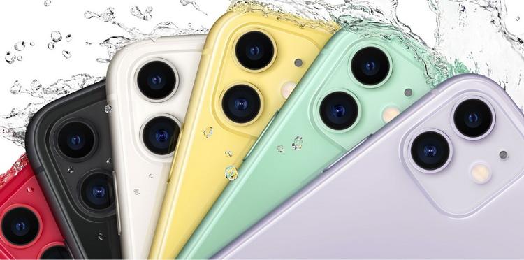 Apple-новые Айфоны расцветки
