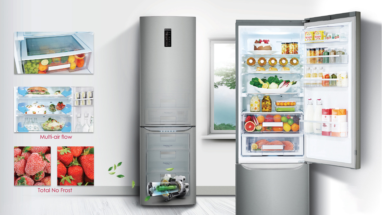 Будь в тренде_холодильники и их технологии в 2019 - холодильник no frost