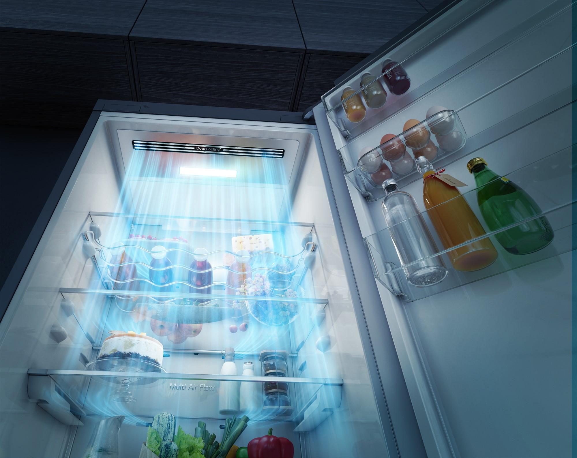 Будь в тренде_холодильники и их технологии в 2019 - система быстрого охлаждения