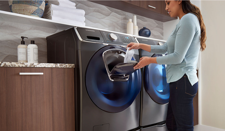 Будь в тренде_технологии стиральных машин 2019 - стиральная машина с дозагрузкой