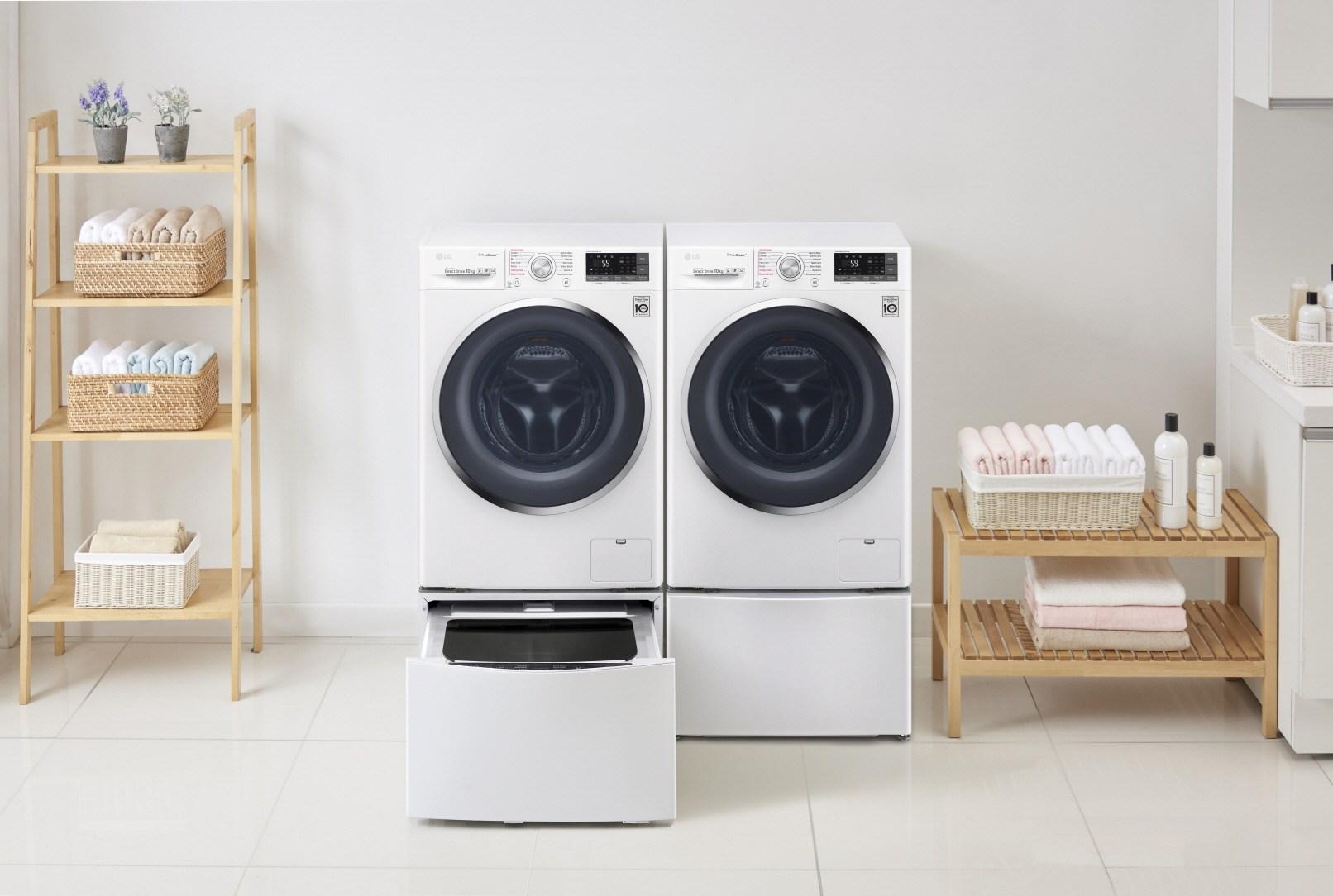 Будь в тренде_технологии стиральных машин 2019 - стиральная машина с двойной загрузкой