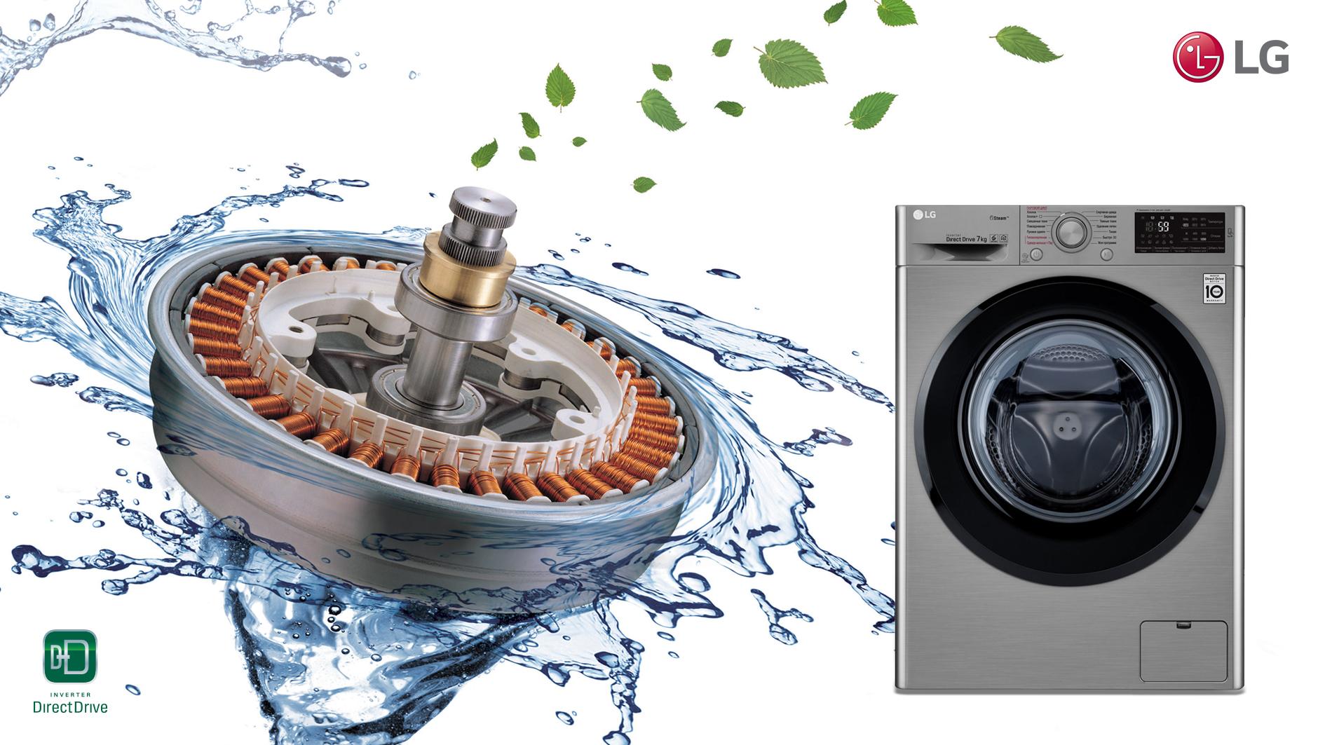 Будь в тренде_технологии стиральных машин 2019 - стиральная машина с прямым двигателем