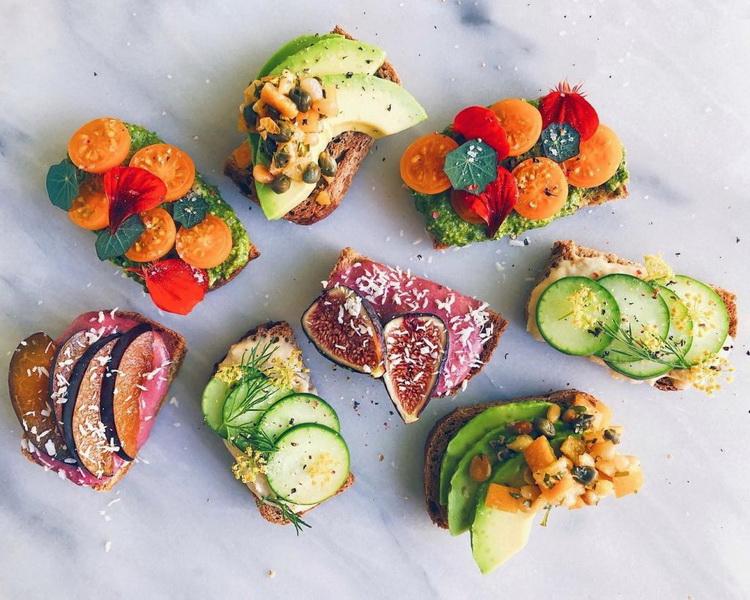 Бутерброды-ассорти креатив