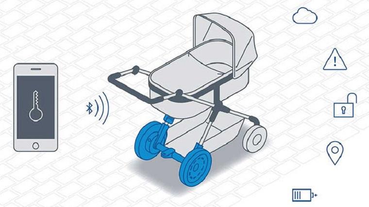 Для самых маленьких – коляска Bosch с мотором 3
