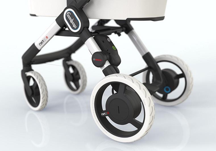 Для самых маленьких – коляска Bosch с мотором 4