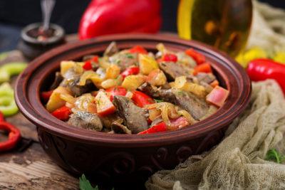 Блюдо з печінки в духовці