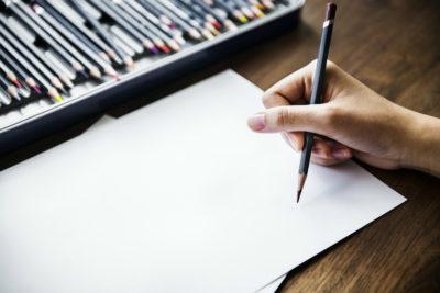 Малювання олівцем з нуля: Чистий аркуш