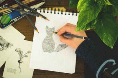 Малюємо простим олівцем: Пошук стилю