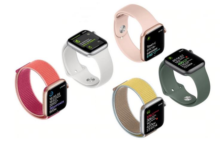 Новые часы Apple-фитнес-тренер
