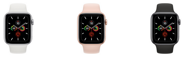 Новые часы Apple-расцветки